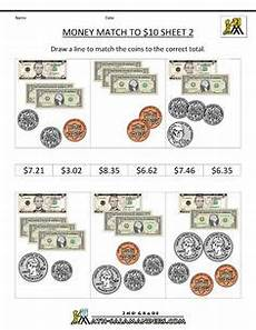 money worksheets with dollar bills and coins 2122 grade 2 counting money worksheet on counting the 4 coins plus 1 and 5 bills auditory