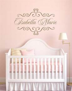 Baby Name Wall Stickers vinyl decal personalized baby nursery name vinyl wall decal
