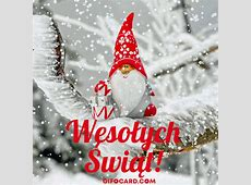 merry christmas in polish language