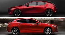 let s compare the new 2019 mazda3 to its predecessor carscoops