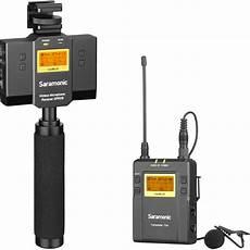 Saramonic Uwmic9 Wireless Lavalier Lapel Microphone by Saramonic Uwmic9 Mount Wireless Omni Uwmic9tx9sprx9 B H