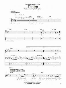 thriller sheet music direct
