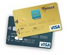 visa premier bnp carte hello bank
