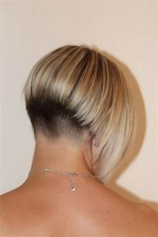 back view of short haircuts for