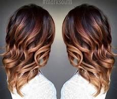 couleur caramel cheveux brun ombr 233 hair marron caramel la tendance coiffure de la