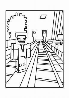 minecraft skeleton coloring pages at getcolorings
