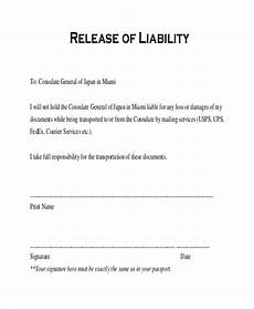 free 11 sle release of liability forms in pdf word