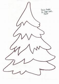 frisch druckvorlage tannenbaum applique