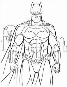 10 Mewarnai Gambar Batman