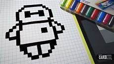 handmade pixel how to draw baymax from big 6