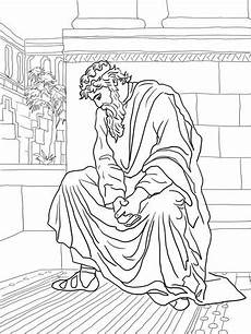 david weeping over the death of absalom coloring page from king david category select from
