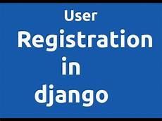 django social registration user registration in django learn django in hindi youtube