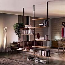scaffali per casa libreria di design in legno e acciaio airport style