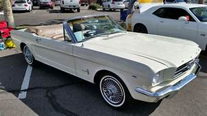 1964 1/2 Mustang Convertible V8 260 Very Early Production