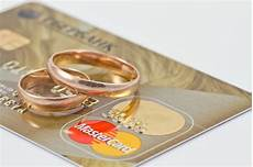 wedding rings and mastercard gold editorial stock image image 59074904