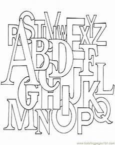 Malvorlagen Abc Alphabet Malvorlagen Fur Kinder Ausmalbilder Alphabet Kostenlos