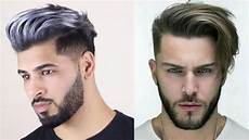 cool short hairstyles for men 2019 best hair coloring for men 2019 youtube