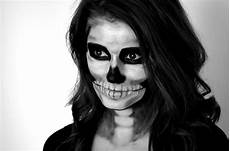 skelett schminken frau skeleton makeup tutorial cappuccino and fashion