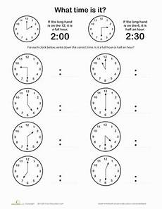 time worksheets on the hour 3122 pin em educa 231 227 o