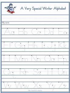 free alphabet handwriting worksheets a to z 21684 winter snowman alphabet tracer letters a to z standard block handwriting preschool