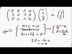 04a 1 rang spaltenraum defekt kern einer matrix