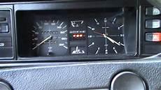 Vw Golf Mk1 1 6d 83 Cold Start At 11 C