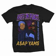 t shirt in a ap mob selling a ap yams t shirt complex