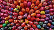 Bunte Ostereier Bilder - colorful easter eggs 6894704