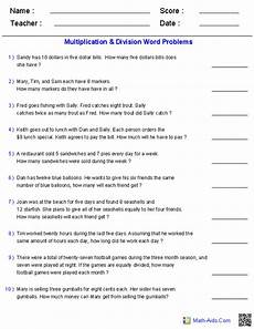 free multiplication and division word problem worksheets for 3rd grade 4975 word problems worksheets dynamically created word problems fraction word problems division