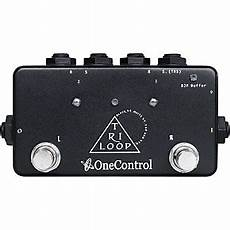 One Tri Loop Effects Switcher Pedal Musician S