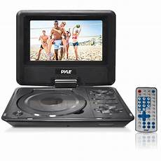 dvd player auto new pyle pdh7 7 quot portable swivel tft dvd player usb sd