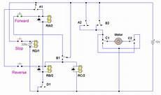 dc motor reversing circuit the circuit