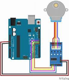 arduino stepper motor circuit diagram arduino