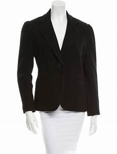 l agence lightweight single button closure coat clothing