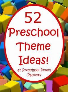 52 preschool themes free 2016 2017 preschool theme calendar preschool powol packets