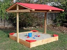 sandkasten selber bauen how to build a covered sandbox how tos diy