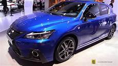 lexus ct200h f sport 2018 lexus ct200h f sport exterior and interior walkaround debut at 2017 frankfurt auto show
