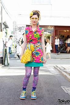 colorful harajuku street style w party baby village vanguard kinji