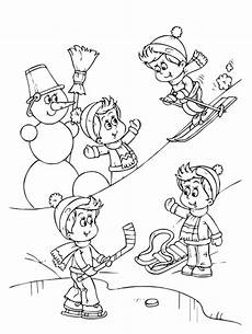 sports photograph coloring pages winter sports