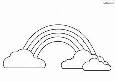 Ausmalbild Regenbogen Ausmalen Wolke Malvorlage Kostenlos 187 Wolken Ausmalbilder