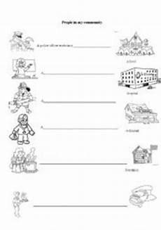 10 best images of places in my community worksheet my community worksheets printable