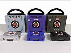 gamecube component mod gchd mk ii plug n play hdmi gamecube adapter hd 480p stone age gamer