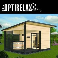 Outdoor Sauna Whirlpool Haus Hs2 Optirelax 174