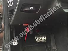 einbauort den obd2 stecker in mercedes e class w211