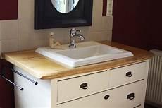 Waschtischplatte Aus Eiche Mit Baumkante Inkl Gr 252 Nderzeit