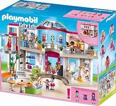playmobil shopping center mit einrichtung kaufen