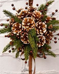 Home Decor Ideaswith Pine Cones by Decorating With Pine Cones 30 Gorgeous Crafts Bren Did