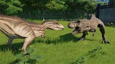 Dinosaurier Arten Ausmalbilder Carcharodontosaurus Modified Vs T Rex I Rex Indoraptor