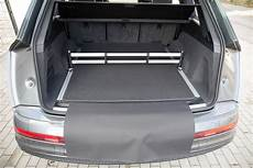 volume coffre q7 3 part trunk mat with bumper protection fits for audi q7
