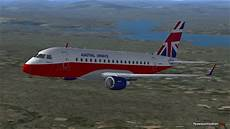 eg9pe erj170 departing egpe microsoft flight simulator 2004